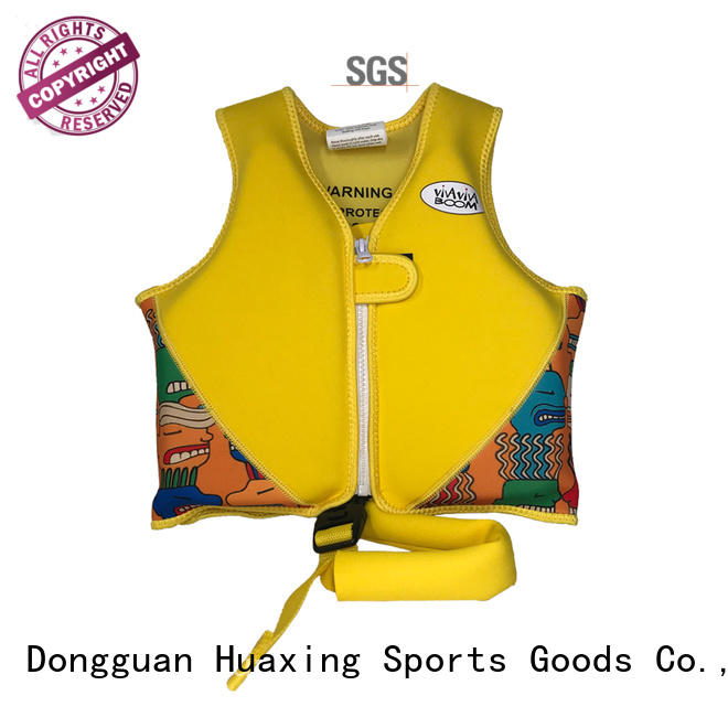 Huaxing perfect toddler swim vest factory price for swimming