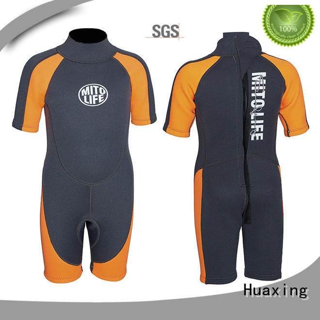 Huaxing soft best wetsuits for surfing printing for surfing