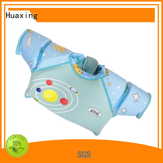 safety swimming life vest print for swimming Huaxing