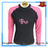 Huaxing selling womens rash guard swimsuit for windsurfing