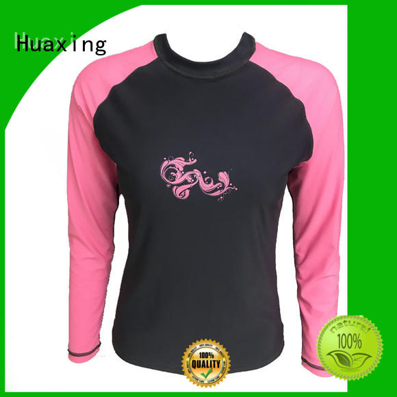 Huaxing long rash guard for men for windsurfing