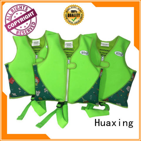 Huaxing breathable swim vest bulk production for swimming