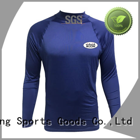 Huaxing outdoor boys rash guard from china for bodyboarding