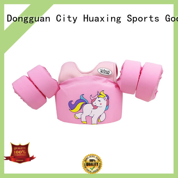 Huaxing lycra childrens swim vest factory price for swimming