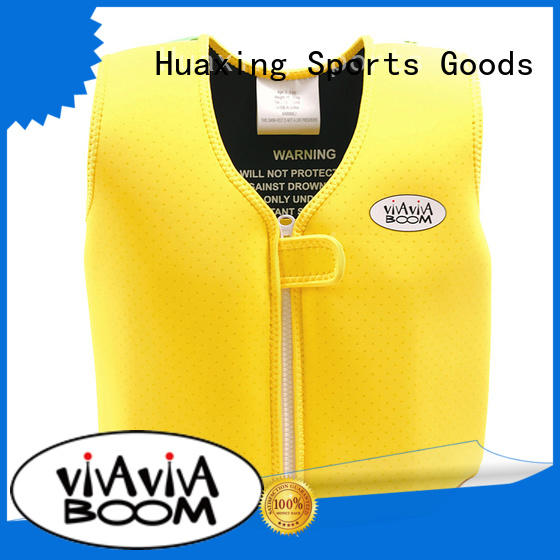 Huaxing customizable super soft swim vest from manufacturer for swimming