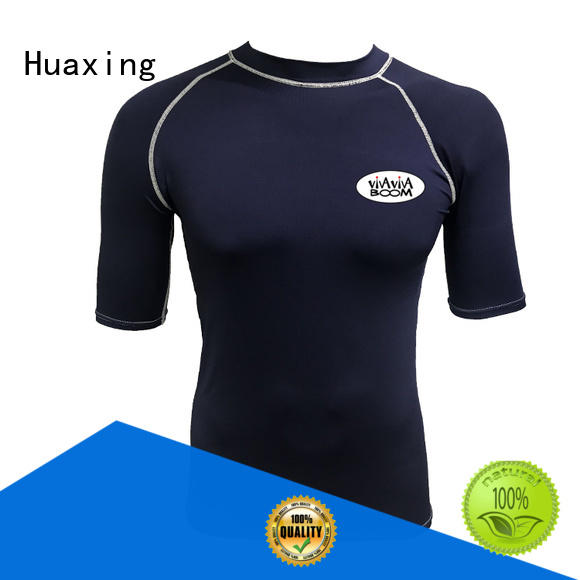 fit rash guard running for wakeboarding