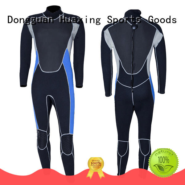 Huaxing waterproof pattern wetsuit supplier for diving