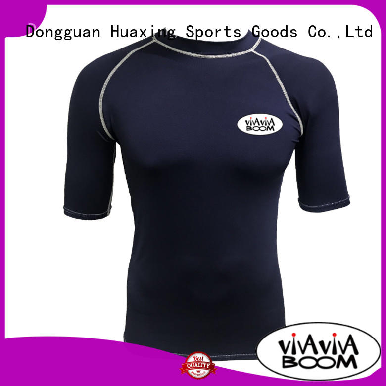 Huaxing surfing girls rash guard factory price for snorkeling