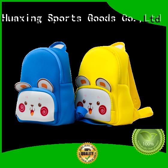 Cute 2.5mm custom made neoprene bag kids backpack