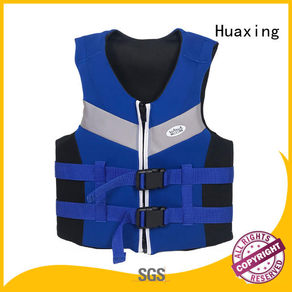 Huaxing colorful baby swim vest for swimming