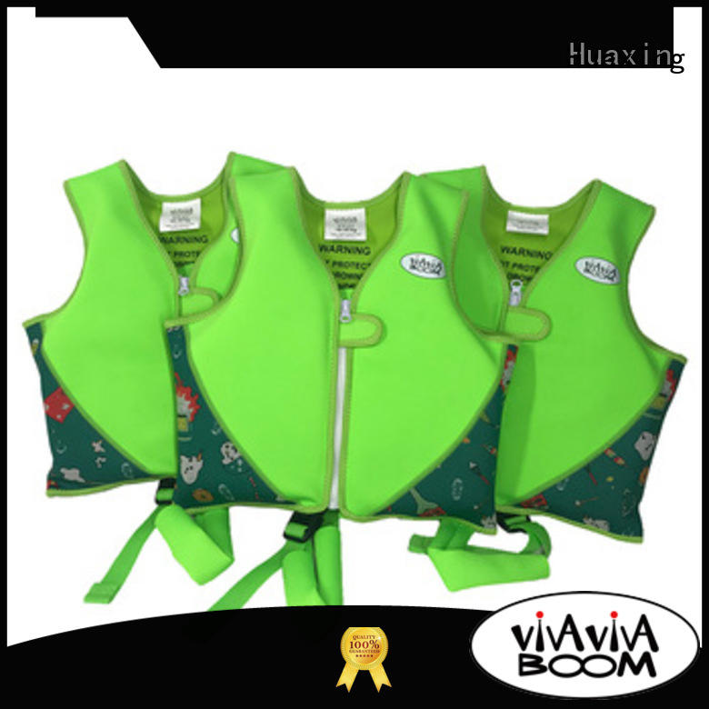 Huaxing perfect kids swim vest producer for swimming