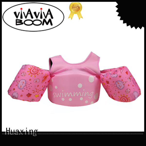 Huaxing safe baby swimming life vest vendor for swimming