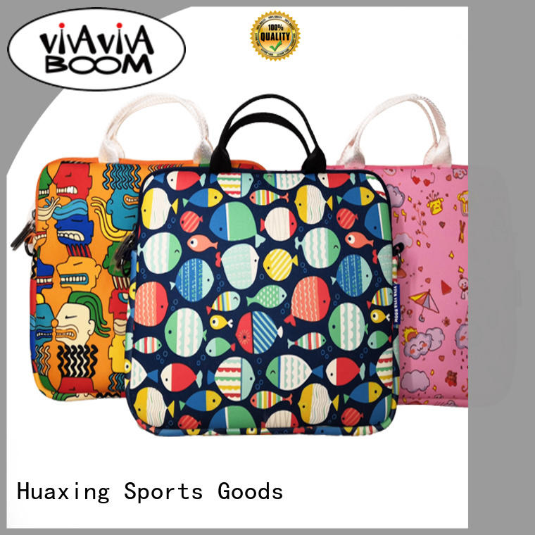 Huaxing colorful neoprene tablet sleeve producer for women