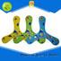Wholesale kids neoprene fabric flying disc toy custom mini water flying disc