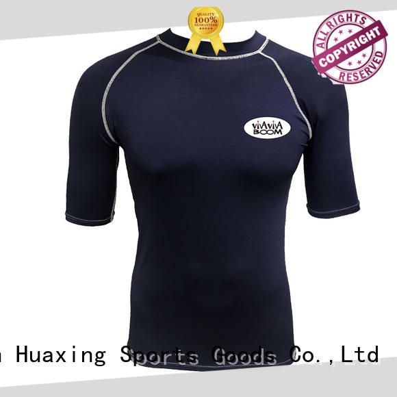Huaxing comfortable womens rash guard swimsuit dropshipping for water survival training