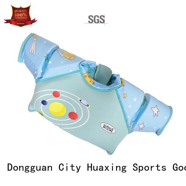 Huaxing jacket kids swim vest bulk production for swimming