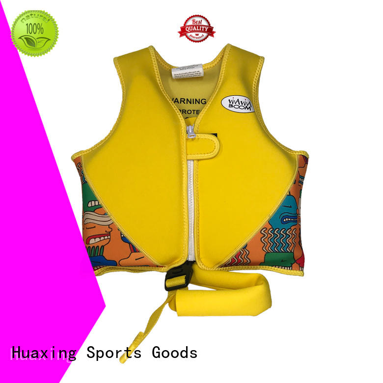 device baby swim vest factory price for swimming Huaxing