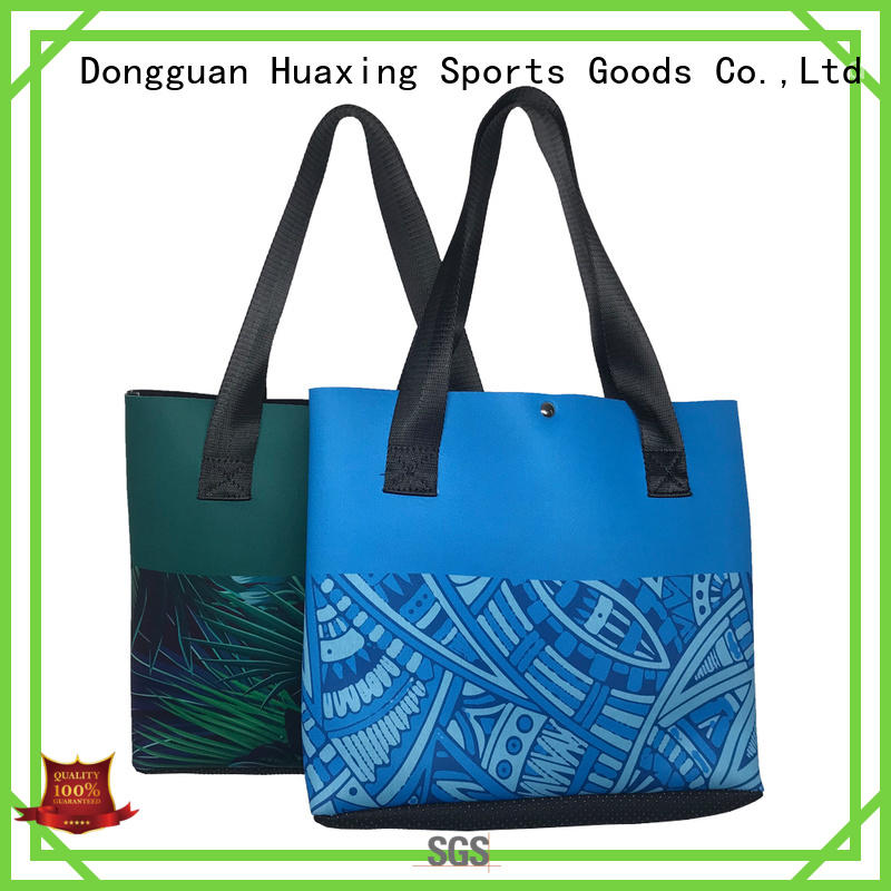 neoprene handbag blue for women Huaxing