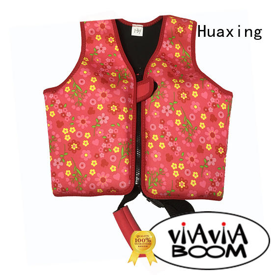 Huaxing soft puddle jumper swim vest shop now for swimming
