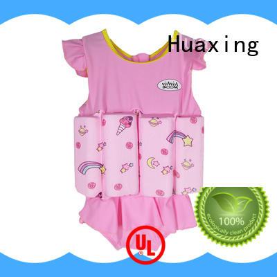 Huaxing swimming kids swimming life jacket bulk production for swimming
