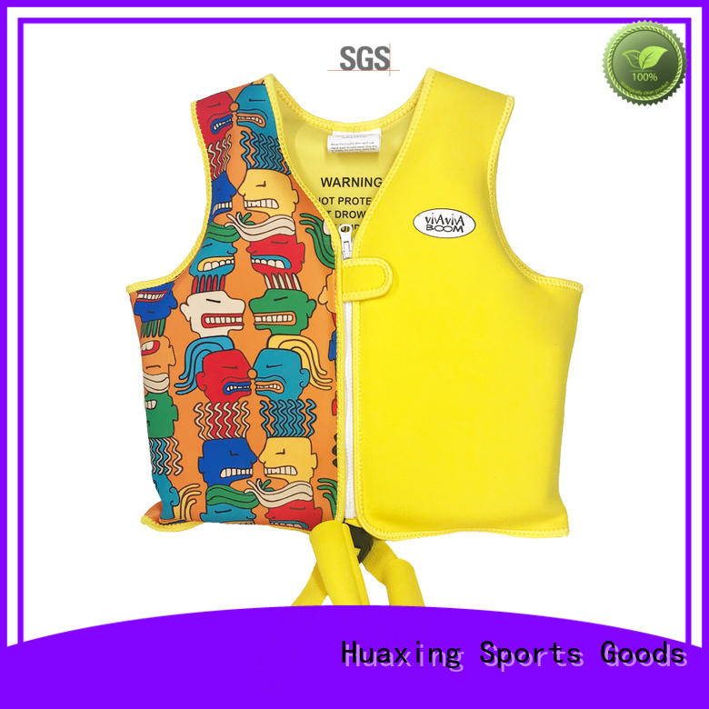 resonable price youth swim vest logo bulk production for swimming
