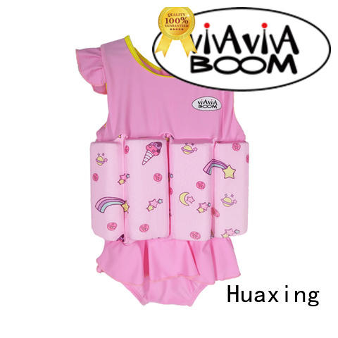 Huaxing print swimming life jacket bulk production for swimming