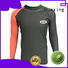 Huaxing good-looking girls rash guard from china for surfing