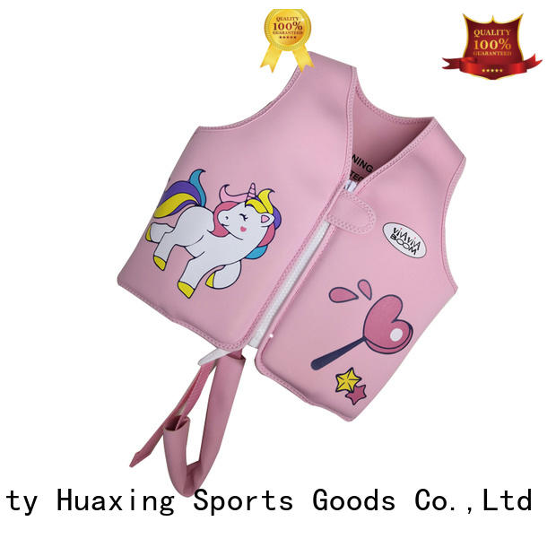 Huaxing safe baby swimming life vest from manufacturer for swimming