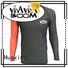 Huaxing style men rash guard for surfing