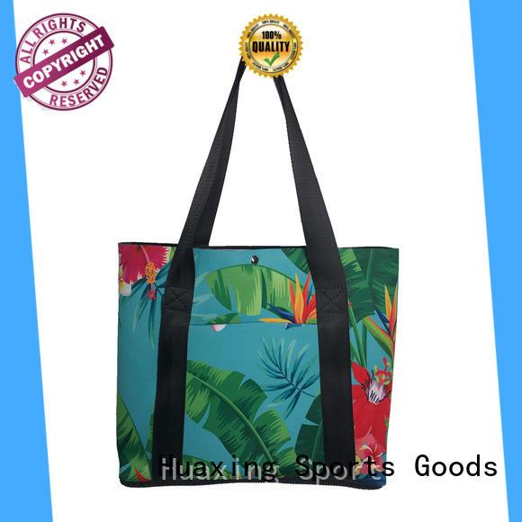 new arrival neoprene beach bag stripes from china for women