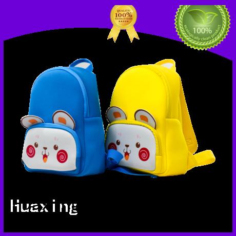 Huaxing new arrival neoprene lunch bag manufacturer for children