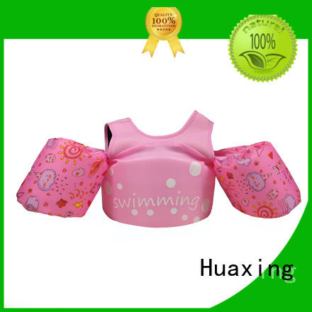 Huaxing childrens youth swim vest for swimming