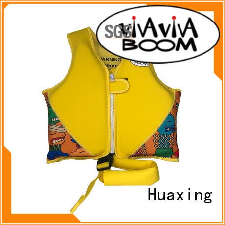 Huaxing flotation girls swim vest factory price for swimming